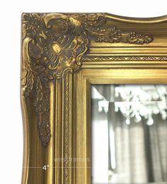 Gold Ornate Baroque français Shabby Chic Antique Style Vintage Cadre Photo Cadeau