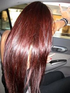 Brownish red. I really like this