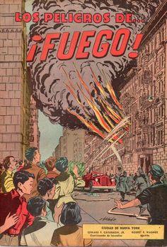 El Banco de Ponce en la Ciudad de Nueva York publicó en 1960 un cómic educativo en torno a las prevención de incendios (fuegos) y el mismo iba dirigido a la comunidad hispana de dicha ciudad. El artista a cargo del cómic fue Ismael Rodríguez Báez.