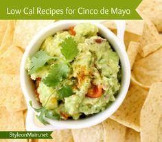 Low Calorie recipes for Cinco de Mayo