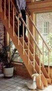 free plans woodworking resource from Popular Science - stairs,staircases,compact,space saving,wooden,steps,free woodworking plans,projects,patterns