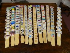 Hands On Bible Teacher: Paint Paddles Turned Bible Facts Review Sticks!!! I just found this site...so excited to follow it and find more ideas to use in my Sunday school class! :)
