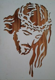 Artesanato de madeira Lovely Nails lovely nails v korytech Jesus Drawings, Art Drawings, Wal Art, Scroll Saw Patterns Free, Wood Burning Patterns, Silhouette Art, Wooden Art, Stencil Painting, Metal Wall Art