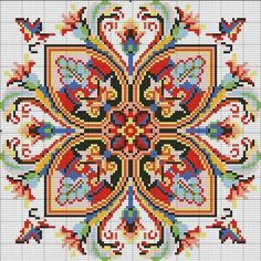 This Pin was discovered by Sta Cross Stitch Pillow, Cross Stitch Borders, Cross Stitch Samplers, Cross Stitch Flowers, Counted Cross Stitch Patterns, Cross Stitch Charts, Cross Stitch Designs, Cross Stitching, Folk Embroidery