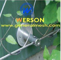 generalmesh x pletivo síťovina, x kabelová síť, síťová zeď, zelená stěna, zelená mřížka, Černá-oxidová síť, Napájecí sítě,X-TEND nerezová architektonická kabelová síť, NEREZOVÉ WEBOVÉ AVIÁŘE
