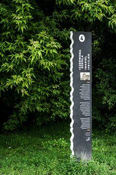 Sightseeing route markers for Dorożkarnia in Siekierki, Warsaw