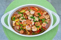 Shrimp, Chicken, & Sausage Gumbo from Reynolds Wrap website