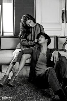 Song Jae Rim & Kim So Eun for Allure Korea's December 2014 Issue Wgm Couples, Cute Couples, Couple Posing, Couple Shoot, Korean Celebrities, Korean Actors, Celebs, Korean Couple Photoshoot, Song Jae Rim