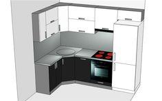 Картинки по запросу маленькая белая кухня стиралка духовка холодильник