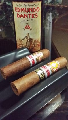 Cuban rum Special Reserve Edmundo Dantes 15 years old and Habanos Regionals Editions.