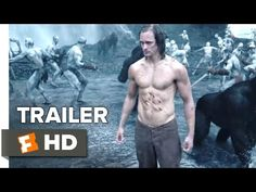 The Legend of Tarzan Official Trailer #2 (2016) - Alexander Skarsgård, Margot Robbie Movie HD - YouTube
