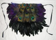 Adult Peacock Costume Feather Bustle Tutu by BurlesqueBoutique, $59.95