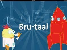 Bru-Taal - Bru-taal is een revolutionaire serious game waarbij kinderen op een interactieve manier met taal omgaan. Door de variatie in het groot aantal oefeningen blijft het spel UITDAGEND & LEERZAAM voor uw kind.    Bru-taal is bedoeld om het taalniveau te verhogen van kinderen in het basisonderwijs.