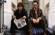 "WITHNAIL & I (1987)  Withnail: ""I feel like a pig sh*t in my head.""   Director Bruce Robinson's cult British comedy and perennial student favourite made stars of Richard E Grant and Paul McGann as a pair of wretchedly unemployable out-of-work actors.    While trying to keep warm and awaiting their next dole cheque, I (McGann) and Withnail (Grant) suddenly decide to up sticks from London and head to a Lake District cottage known owned by Richard Griffiths' camp Uncle Monty."