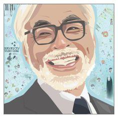 """happy birthday, hayao miyazaki! [+2 tags]"" by akihabara ❤ liked on Polyvore featuring art"