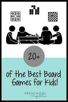 20 Best Board Games for Kids - Preschool Inspirations Preschool Board Games, Board Games For Kids, Fun Activities For Kids, Preschool Family, Preschool Math, Best Family Board Games, Family Fun Games, Family Game Night, Kid Games Indoor