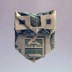 Dollar Scheine Falten