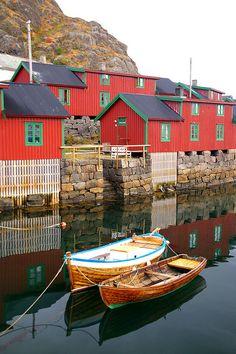 Stamsund Rorbu, Norway