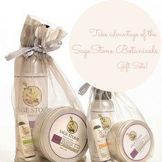 Going holiday shopping? Take advantage of our SageStone Botanicals gift sets! http://www.sagestonebotanicals.com/Shop/gift-sets