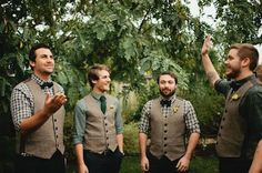 The Wedding-Day Guide to Grooming: How To Style Hair, Beards, Nails (and Groomsmen, Too): The Daily Details: Blog : Details