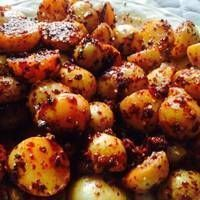 Cambray potatoes with chile from the lemon tree. Mexican Food Recipes, Vegetarian Recipes, Cooking Recipes, Healthy Recipes, Tapas, Appetizer Recipes, Snack Recipes, Snacks, Deli Food