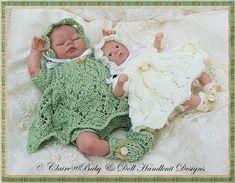 Lacy Dress & Pixie sombrero juego 11.6 pulgadas muñecas-
