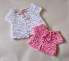marianna's lazy daisy days: Premature Baby Crochet Baby Jacket