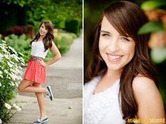 seniors, posing, @Michelle Moore, colorful, pink location, fun