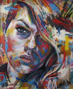 DAVID WALKER http://www.widewalls.ch/artist/david-walker/ #urban #contemporary #art