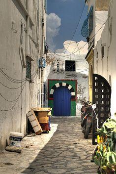 Tunisia.  'medina hammamet.'  Photograph by francesco sgroi, via Flickr.  Photograph was taken on September 3, 2009.