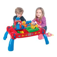 Mega Bloks Build N Learn Table