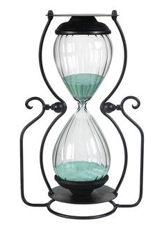 truly an Hour glass!hourglass with Aqua sand Hourglass Sand Timer, Sand Timers, Grain Of Sand, Inspired Homes, Vintage Decor, Glass Art, Sand Glass, Vintage Inspired, Lights