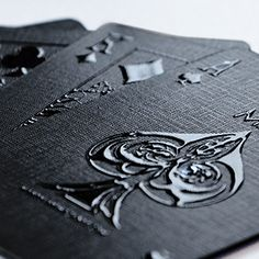 ohhhhhhh... impressions stealth ed. playing cards - MPC
