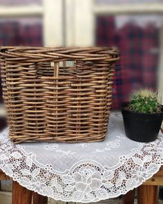 RATTAN BASKET  Material: Rattan/Rotan Size: 25x25x20cm Finishing: Natural  Kindly PM for price and order WhatsApp 628892830506  #rattan #rattanbasket #rattanbasketstorage #rotan #keranjangrotan #keranjangrotanmurah #keranjang #keranjangrotanbandung #rotanbandung #homedecor #vintage #shabbyhomes #shabbyvintage #shabbychic #vintagelove #rattanbox #kotakrotan #rattanbandung #rotanbandung #rotanmurah by pm_division