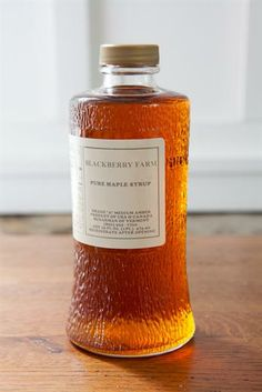 The perfect match for our griddle cakes, our Grade A premium amber Maple Syrup is fresh from Vermont and ready to be served. It's even used in our very own Blackberry dining rooms.) Now Available for Purchase! Glass Packaging, Beer Packaging, Brand Packaging, Product Packaging, Glass Bottles, Drink Bottles, Maple Syrup Bottles, Griddle Cakes, Honey Syrup