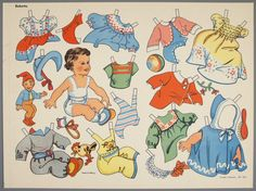 77.4182: Babette | paper doll | Paper Dolls | Dolls | National Museum of Play Online Collections | The Strong