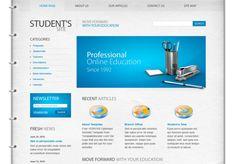 Student html5 template, free wordpress template, html free templates