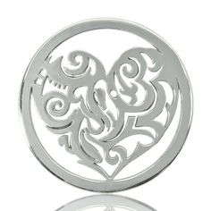 Nikki #Lissoni interchangeable coin pendant for necklace