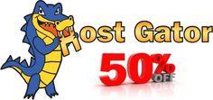 HostGator 50% OFF : September 2012 Discount Coupon