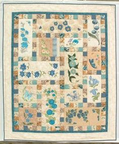 Love Flowers Quilt 2