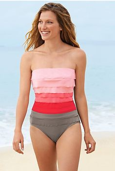swimsuits 2013. These are really cute! #what to wear #body type #onepiece