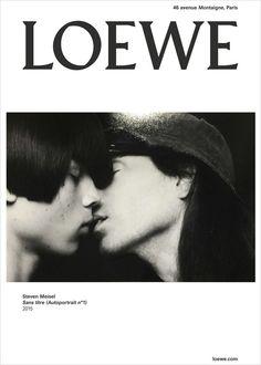 LOEWE ad By  Steven Meisel  http://www.instagram.com/markjfitzgerald http://markfitzgerald.com.au Good Inspiration  :)