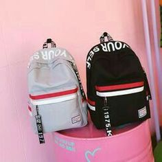 Shop for Women's Backpacks - FREE Worldwide Shipping available! Stylish Backpacks For Men, Cute Backpacks, School Backpacks, Backpack For Teens, Backpack Online, Backpack Purse, Fashion Bags, Fashion Backpack, Black School Bags