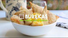 Receta de Burekas - Borrecas - Empanadas de Queso con Semillas de Sésamo