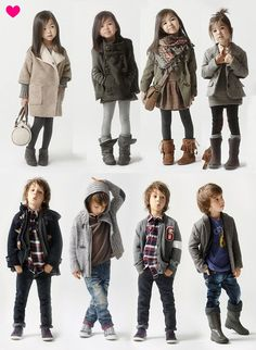 My little kids will be dressed just like this