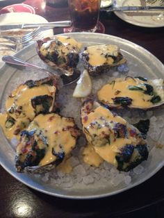 Love oysters :) Yum! These are from Pappadeaux