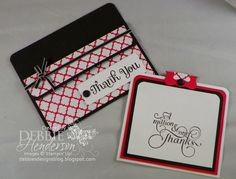 Debbie's Designs: Horizontal Pocket Card!