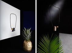 Traveling Forms, a new jewellery collection by Debbie Carlos