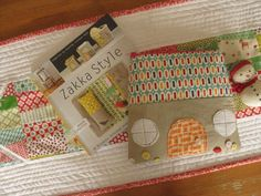 house zip-pouch by Aneela from the new Zakka Style book - can't wait for my copy!