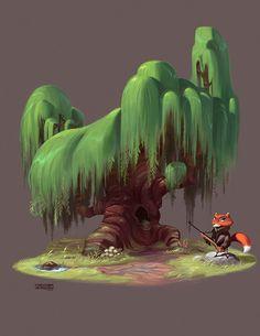 Tree Color Study